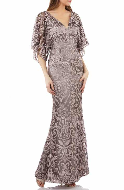 7dc05a31b8 JS Collections Embroidered Lace Evening Dress