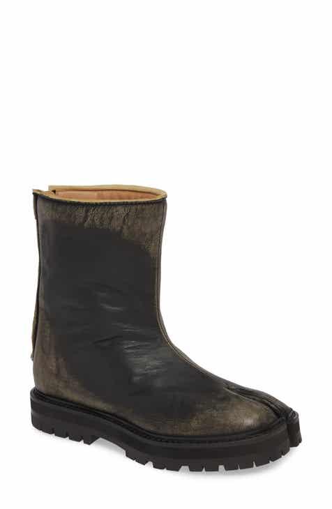 7c23476834e Maison Margiela Tabi Moto Boot (Women)