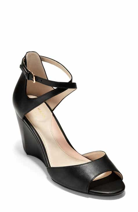 a84a5fc368 Cole Haan Sadie Open Toe Wedge Sandal (Women)