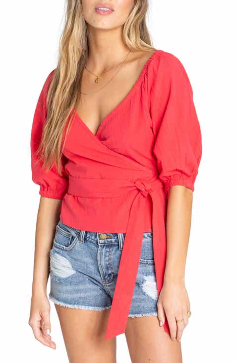 811e94c42cea4 Billabong New Lust Off the Shoulder Top