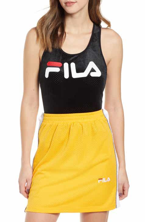 FILA Lupita Velour Bodysuit by FILA