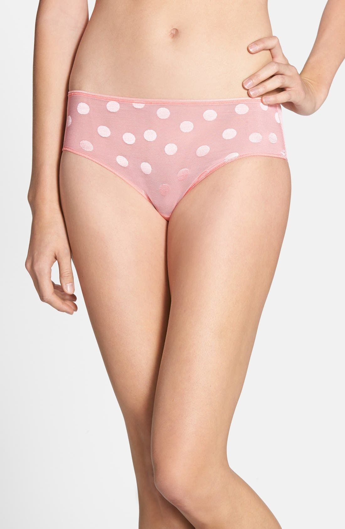 Main Image - TC Dot Lace Hipster Briefs