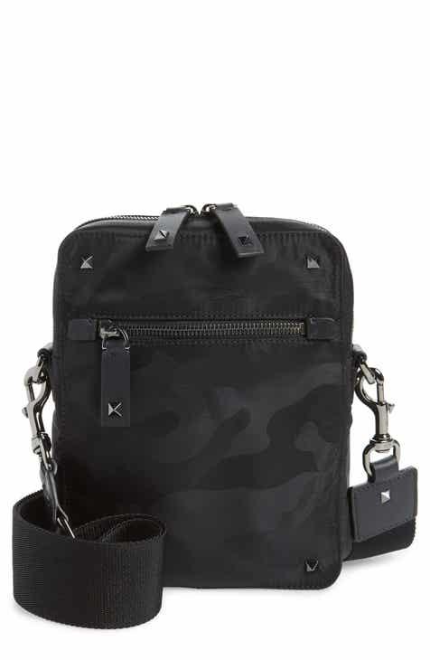 7d9dcf5de4 VALENTINO GARAVANI Small Camo Messenger Bag