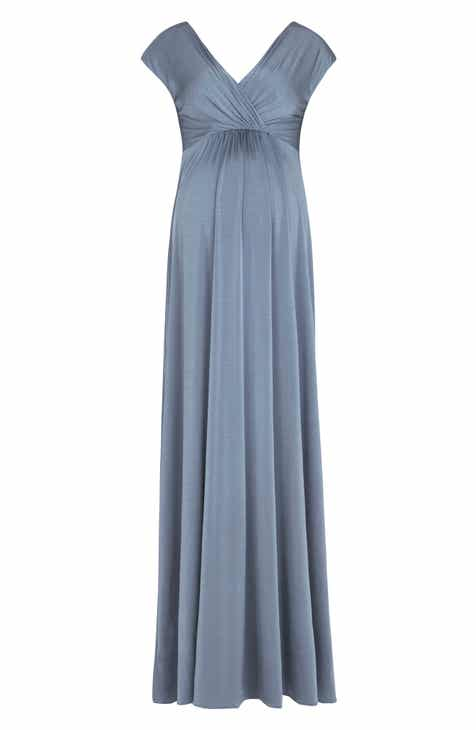 13c94b9b896 Tiffany Rose Francesca Maternity Nursing Maxi Dress.  255.00. Product  Image. BRONZE BLUE  MIDNIGHT GARDEN