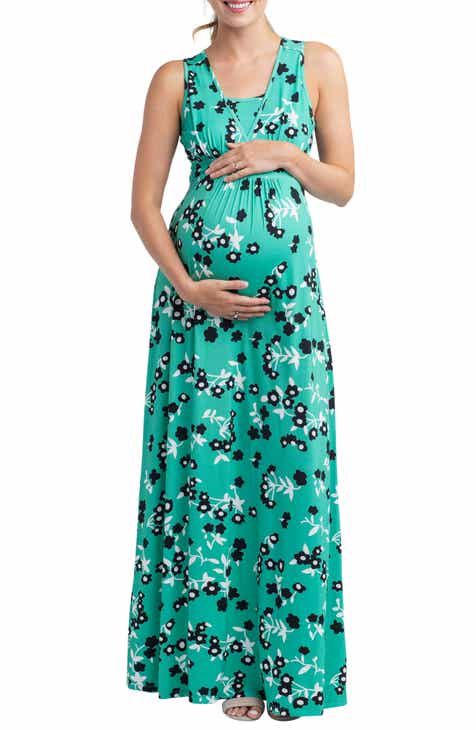 eda9a386bc3c7 Nom Maternity Hollis Maternity/Nursing Maxi Dress