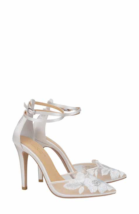 d069b28c2 Bella Belle Embroidered Ankle Strap Pump (Women)