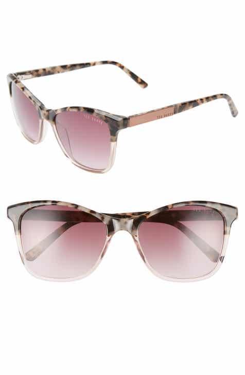dae9852a9 Ted Baker London 55mm Square Cat Eye Sunglasses