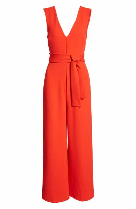 0eeae726a81a Leith Deep V-Neck Jumpsuit.  59.00. Product Image. RED LIPSTICK