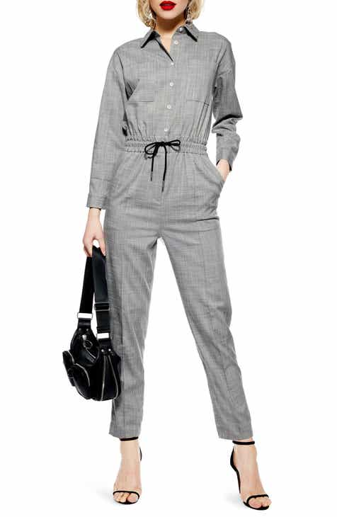 Caslon® Surplice Jumpsuit (Plus Size) by CASLON