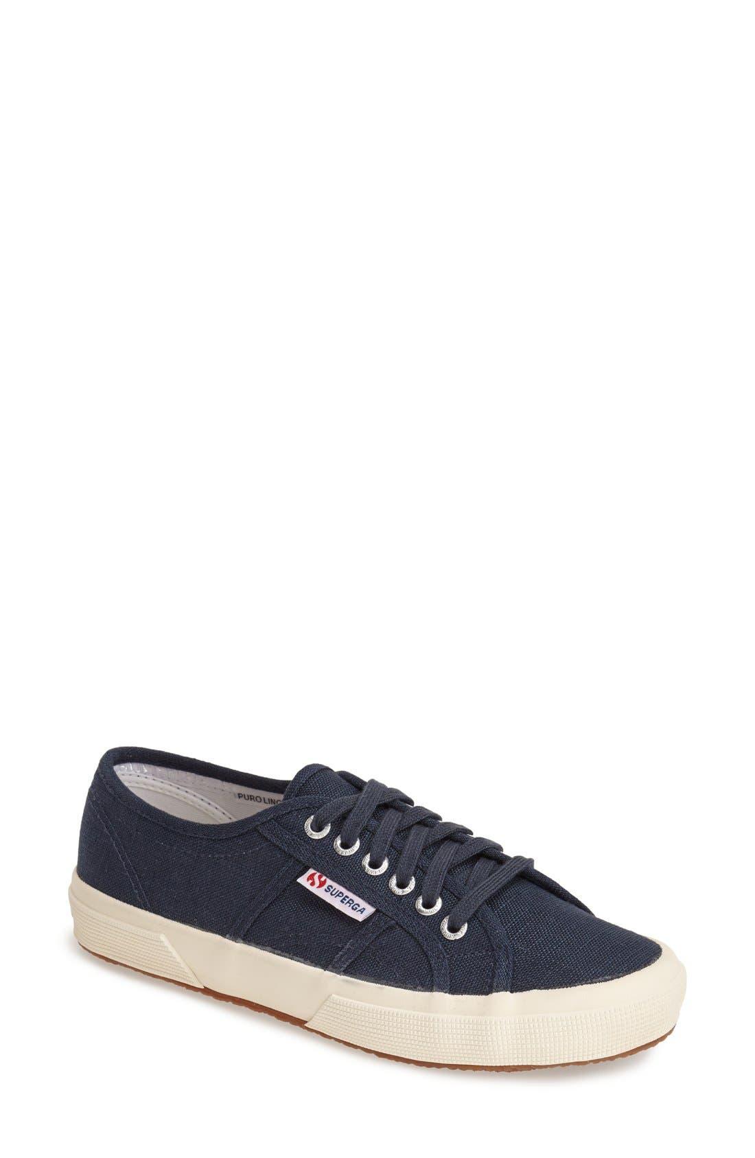 Main Image - Superga 'Linu' Linen Sneaker (Women)