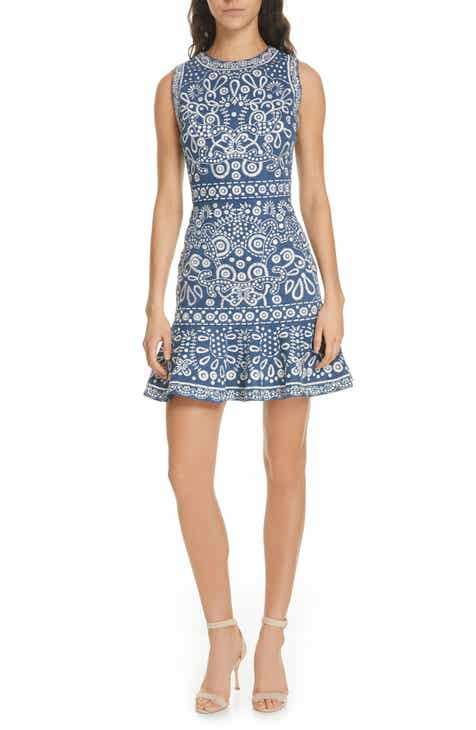 3dc9cf7a9e65 Alice + Olivia Rapunzel Embroidered Dress