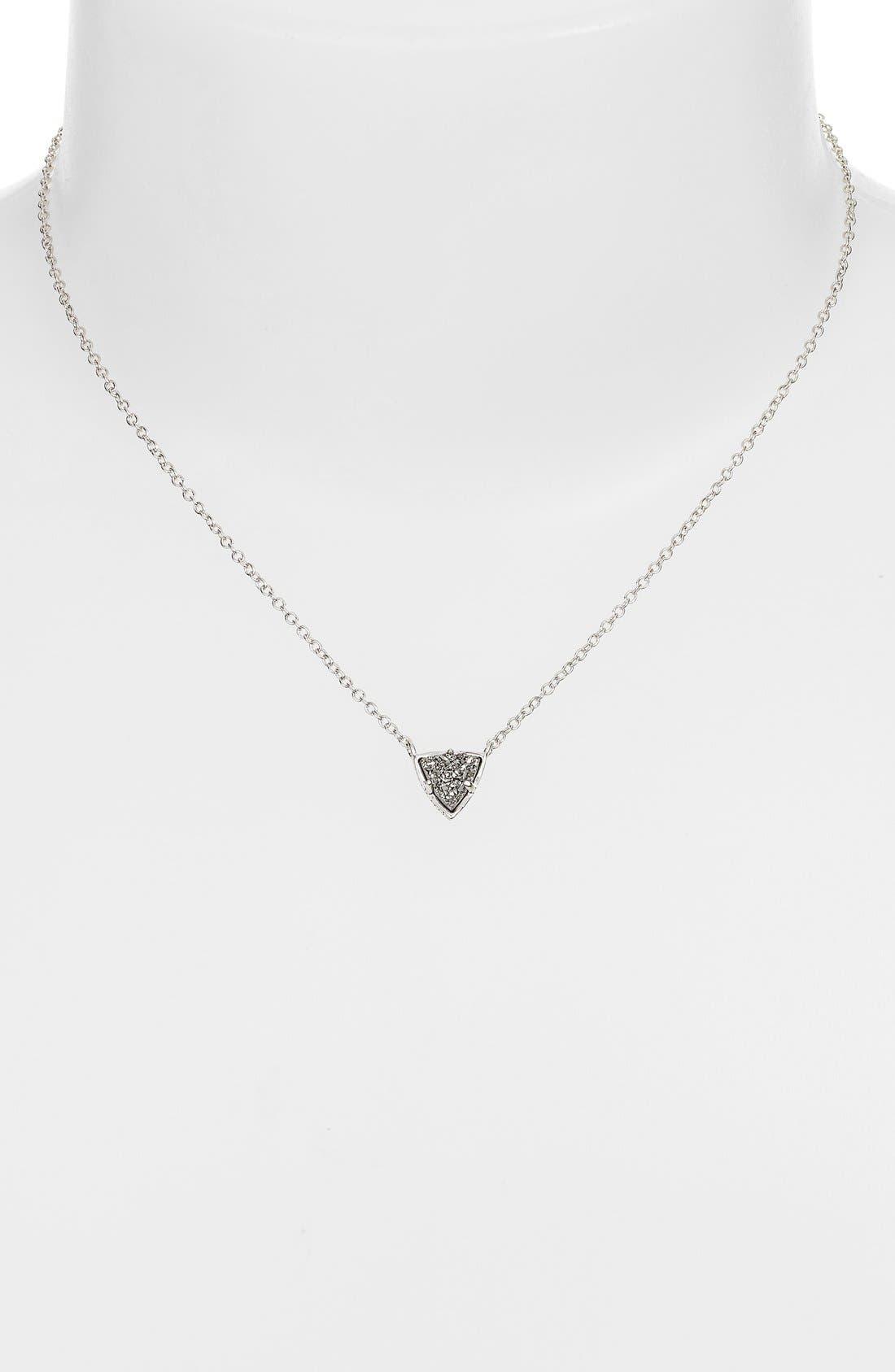 Alternate Image 2  - Kendra Scott 'Perry' Drusy Pendant Necklace