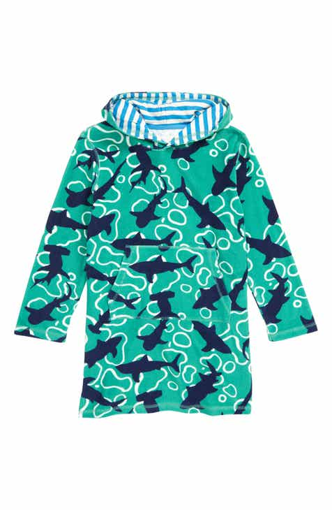 aeffe3c8b5 Mini Boden Towelling - Feeding Time Hooded Cover-Up (Toddler Boys