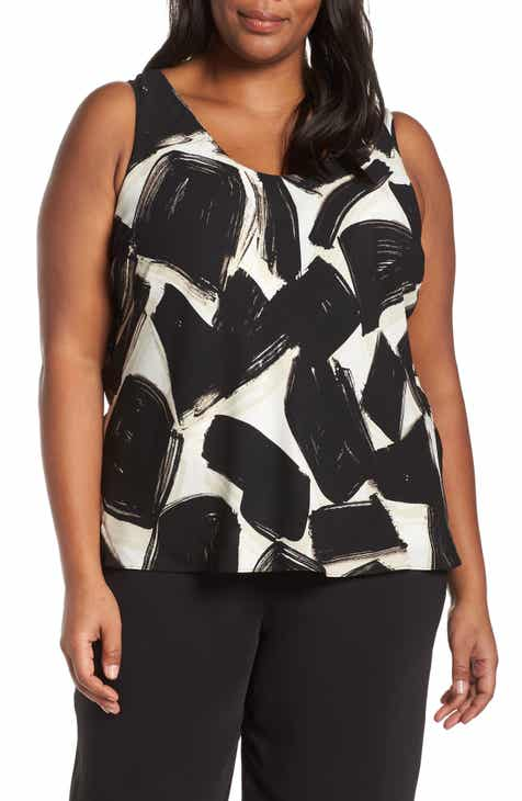 NIC+ZOE Nightfall Sleeveless Tank (Plus Size)