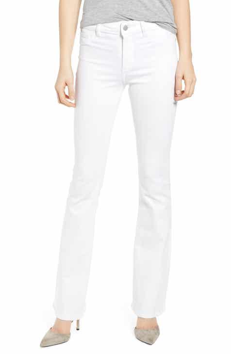 DL1961 Bridget Instasculpt Bootcut Jeans (Porcelain)