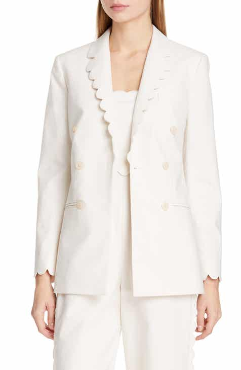 Rebecca Taylor Scallop Detail Jacket by REBECCA TAYLOR