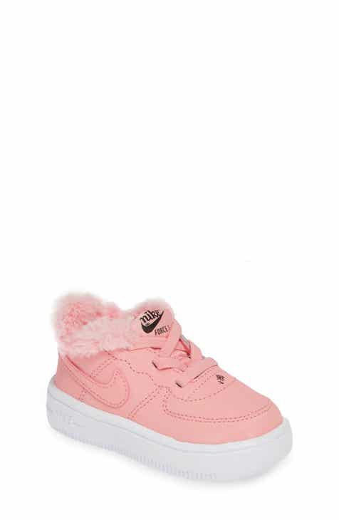 4984bd688db3 Nike Force 1 VDAY Faux Fur Sneaker (Baby