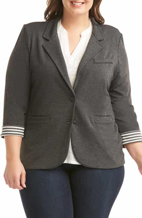 Lemon Tart Tallie Blazer (Plus Size) by LEMON TART