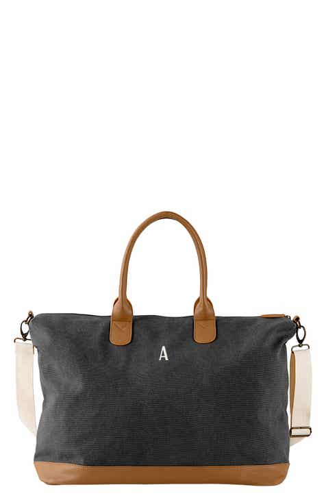 c7741dec9be Cathy s Concepts Monogram Oversize Canvas Tote