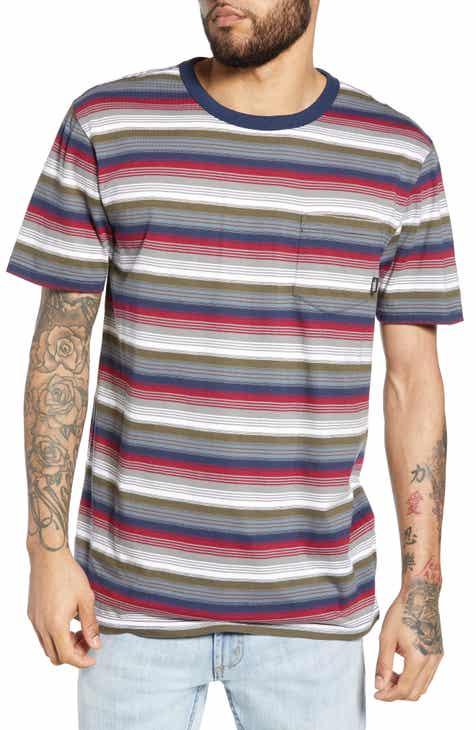 17139c0cc9 Vans Redmond Stripe Pocket T-Shirt