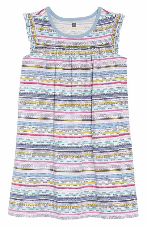 Tea Collection Might Mini Dress (Toddler Girls