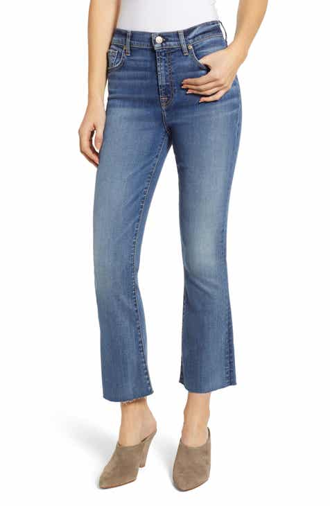 DL1961 Florence Instasculpt Crop Skinny Jeans (Everglade) (Plus Size) by DL 1961