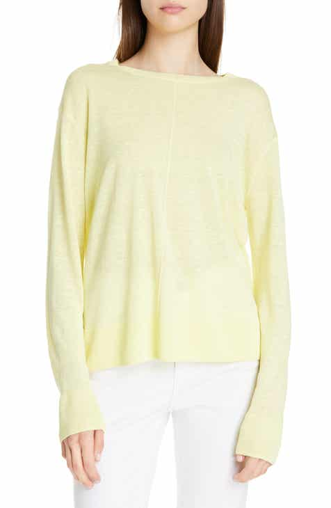 Nordstrom Signature Linen Blend Sweater by NORDSTROM SIGNATURE