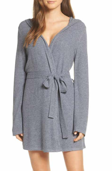 Socialite Brushed Hacci Wrap Robe by SOCIALITE
