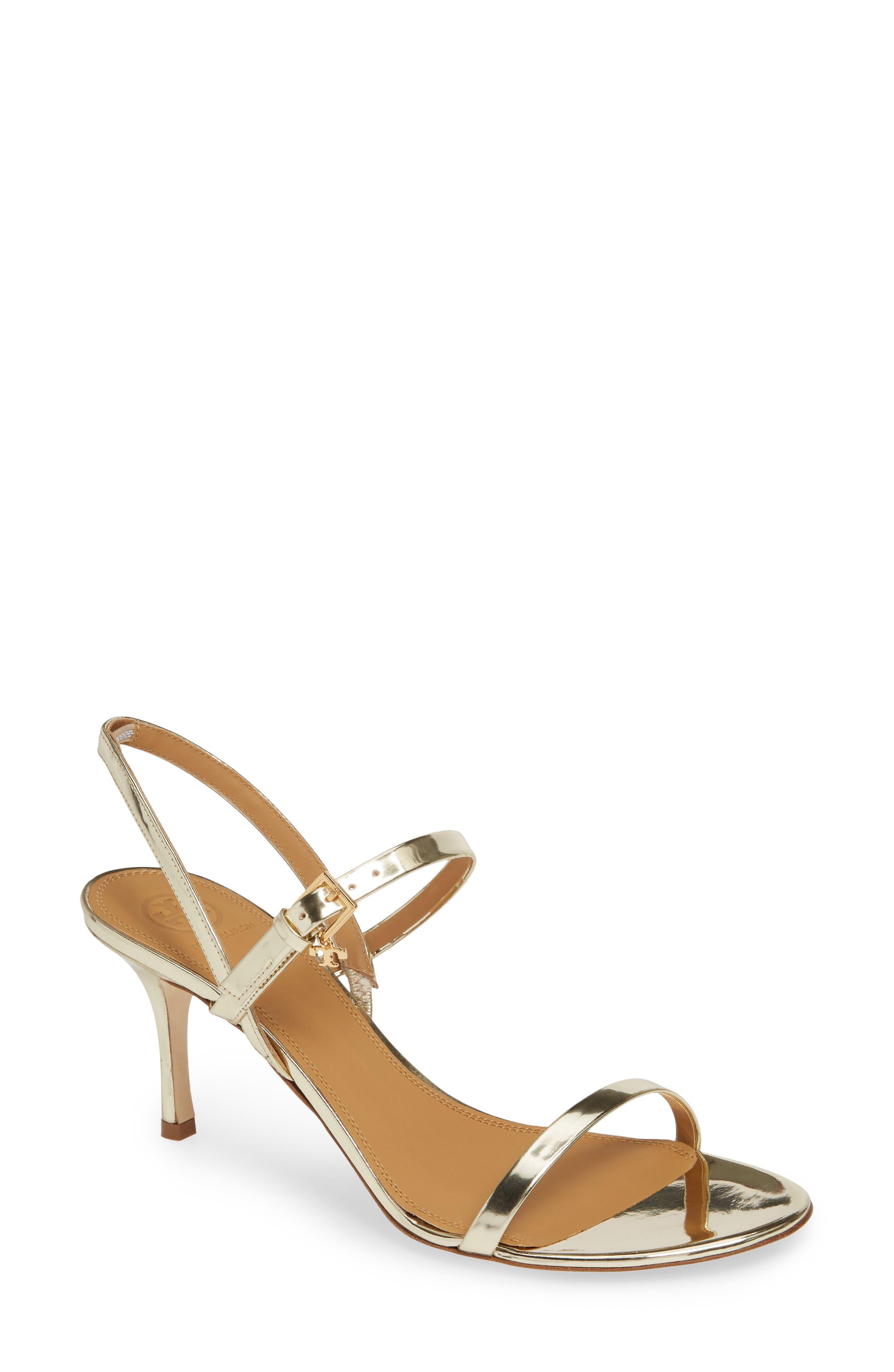 298d7cd1387f Metallic Tory Burch Sandals   Flip-Flops