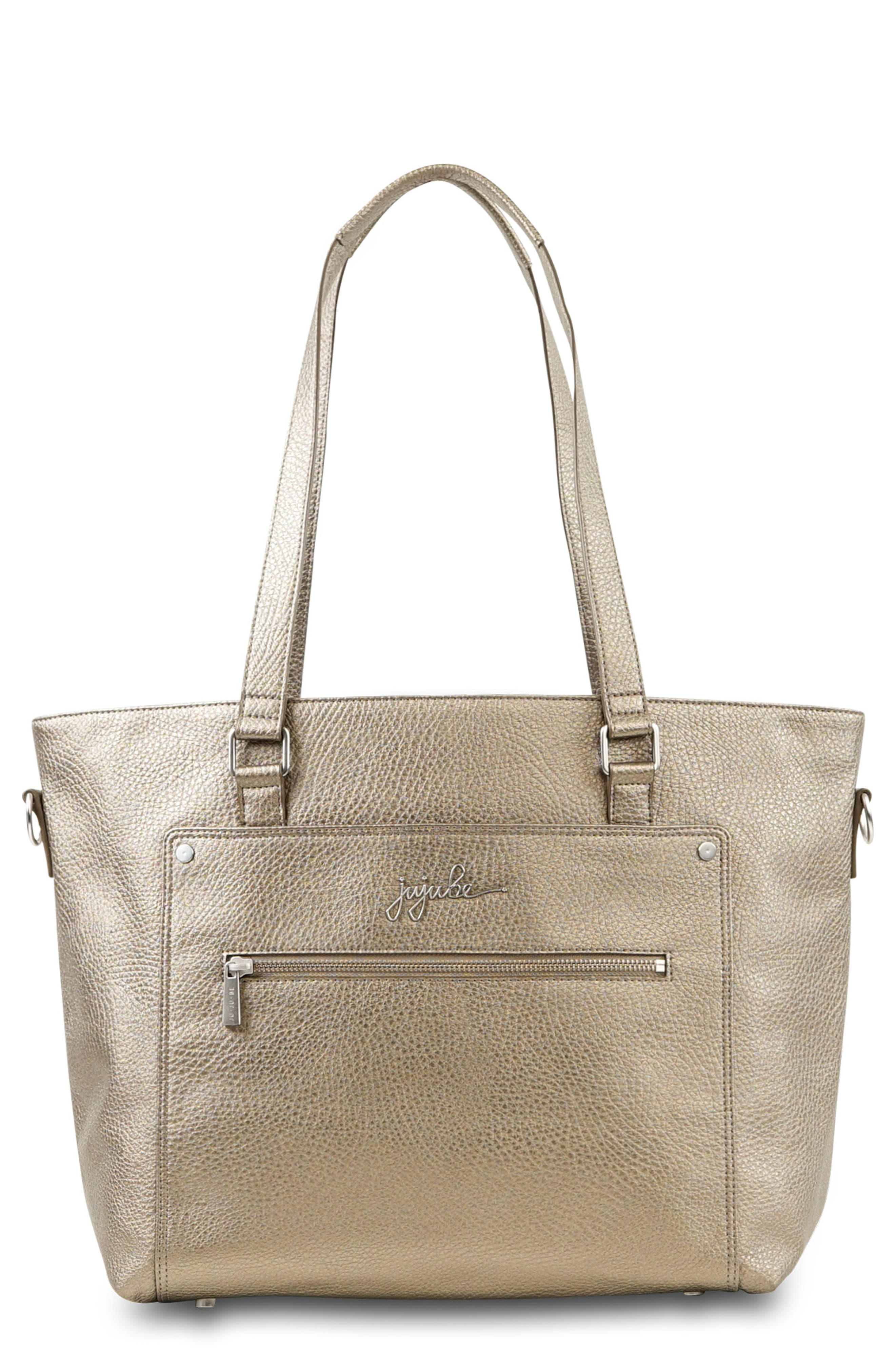 Clothing, Shoes & Accessories Personalised Monogram Baby Diaper Bag In Tan Vegan Leather Gift Elegant Appearance Mixed Items & Lots