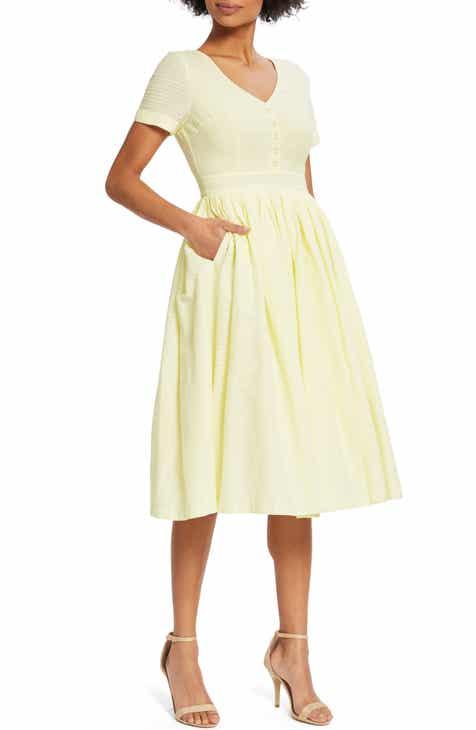 1206aa8466 ModCloth Fabulous Fit   Flare Dress (Regular   Plus Size)