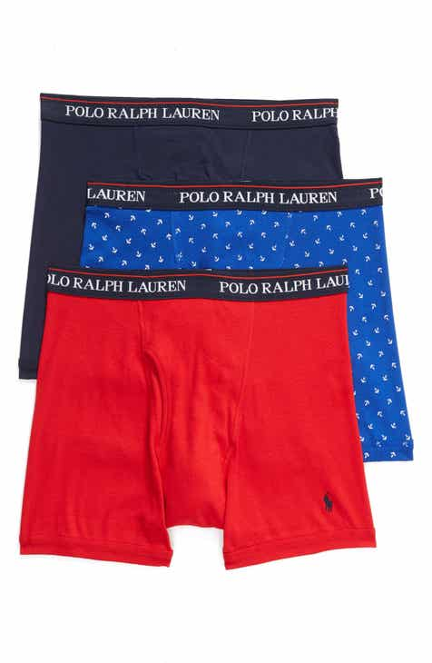 ba595827ce Polo Ralph Lauren 3-Pack Boxer Briefs