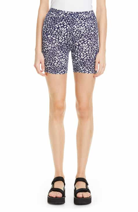 Sandy Liang Jojo Leopard Print Bike Shorts (Nordstrom Exclusive) by SANDY LIANG