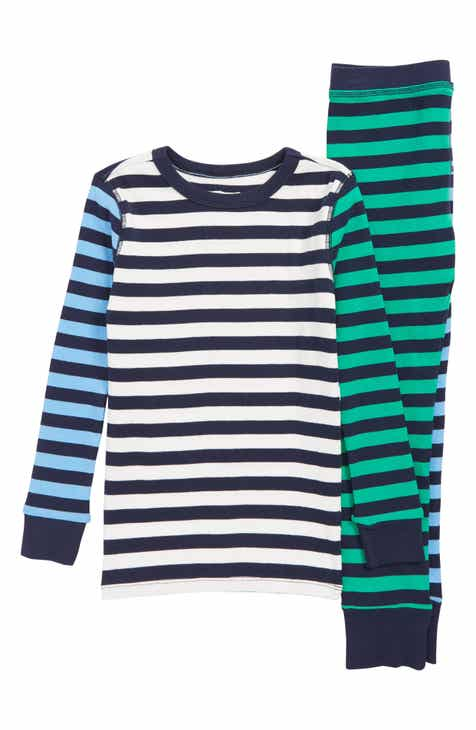 30f977f1475b0 crewcuts by J.Crew Stripe Fitted Two-Piece Pajamas (Toddler Boys