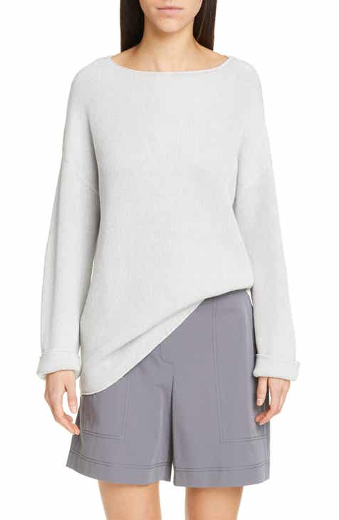 Lafayette 148 New York Relaxed Textured Stitch Sweater by LAFAYETTE 148