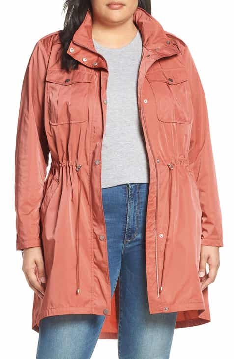 67456bc1f63 Badgley Mischka Dakota Raincoat (Plus Size)