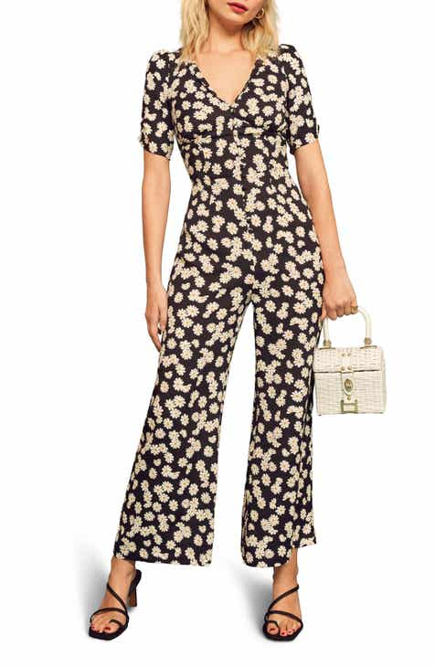 Sam Edelman V-Neck Jumpsuit by SAM EDELMAN