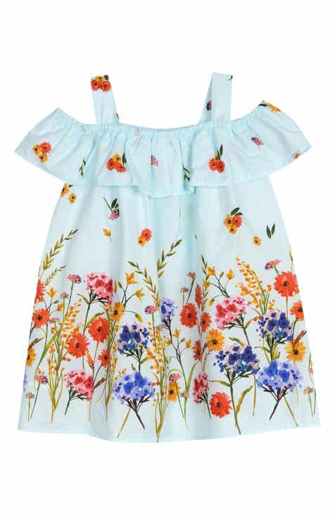 dab65f3cb99 Pippa   Julie Floral Border Cold Shoulder Dress (Baby)