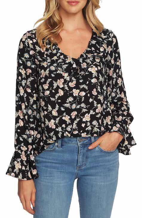 93aca083d1e51 CeCe Duchess Floral Blouse