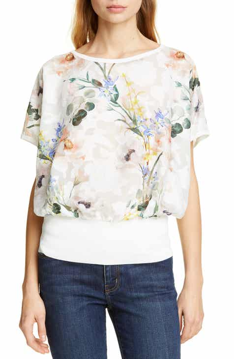 aa679459d083ba Ted Baker London Eltiee Elegance Blouson Top