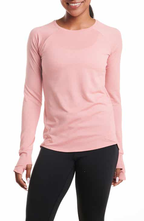 Oiselle Flyout Long Sleeve Performance Shirt by OISELLE