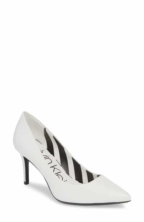Calvin Klein  Gayle  Pointy Toe Pump (Women) 4e7880648