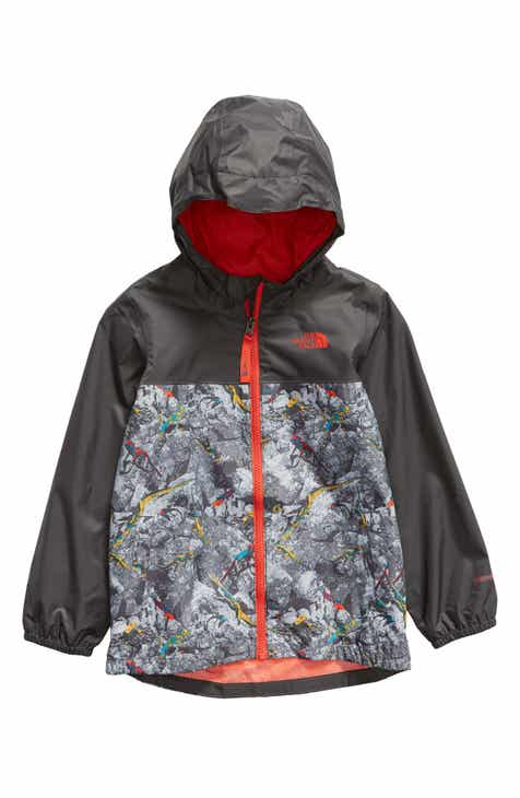 230bd8ace3cb The North Face Zipline Hooded Rain Jacket (Toddler Boys   Little Boys)