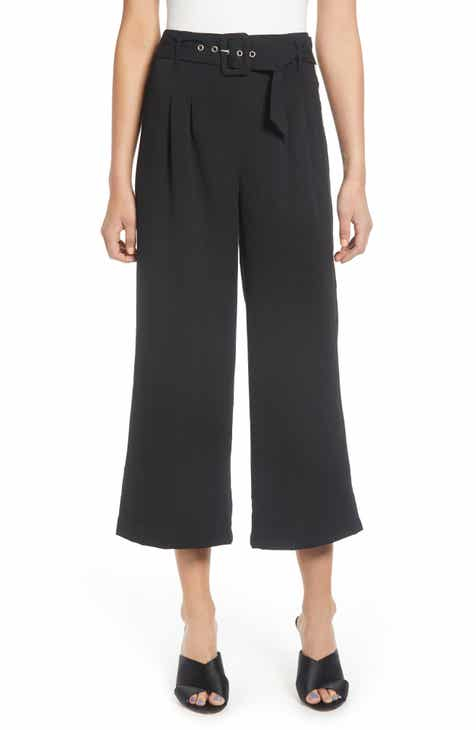 J.O.A. Crop Wide Leg Pants by J.O.A.