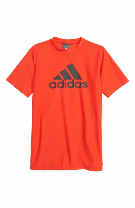 adidas Originals Trefoil Swim T-Shirt (Big Boys) 56d1374383