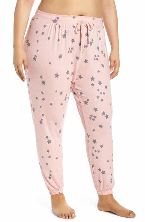 PJ Salvage Peachy Party Lounge Pants (Plus Size) by PJ SALVAGE