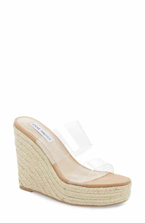bed6d51d36f1 Steve Madden Sunrise Espadrille Wedge Slide Sandal (Women)