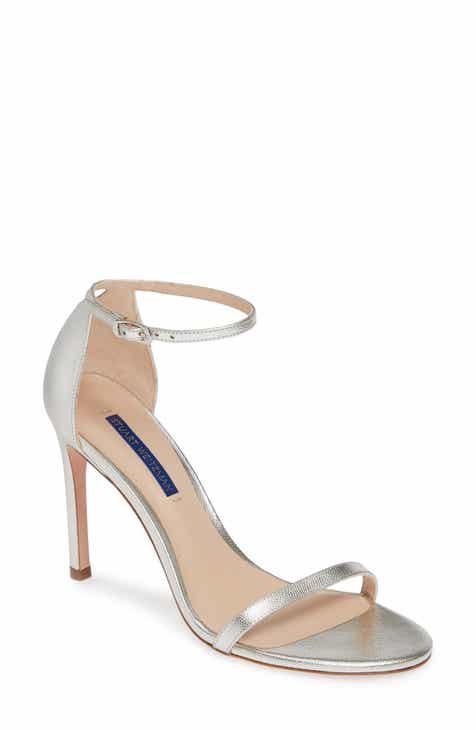 Stuart Weitzman Nudistsong Ankle Strap Sandal (Women) 1c1893c1ab1e