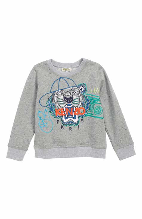 3d4f7637 KENZO Wax Embroidered Tiger Sweatshirt (Little Boys & Big Boys)
