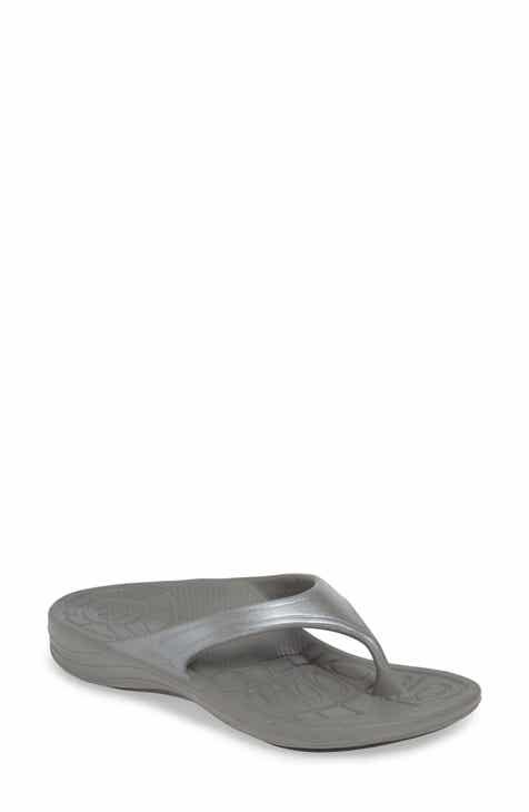 665baf318e615b Grey Flip-Flops   Sandals for Women